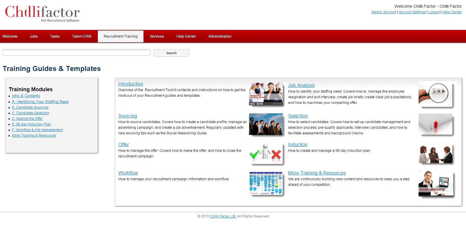 Online Recruitment Management Software - Recruitment Training Resources & Guides